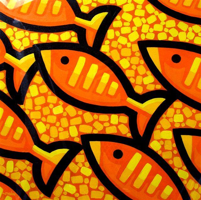 Nine Fish Aswim