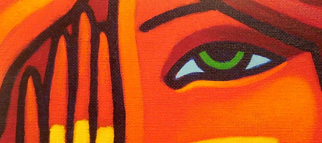 face-orange